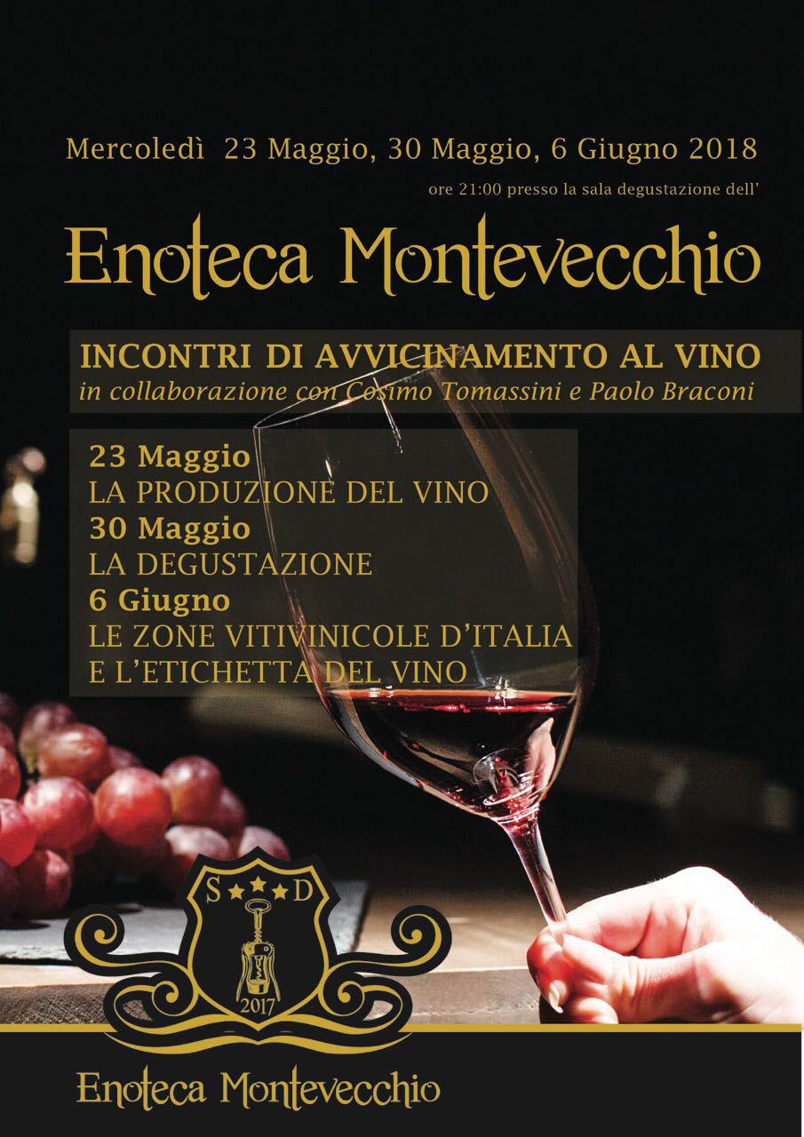 incontri di avvicinamento al vino